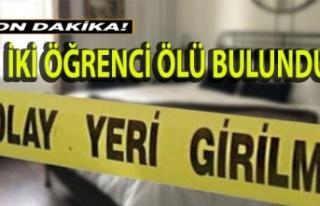 Gönyeli'de iki öğrenci ölü bulundu