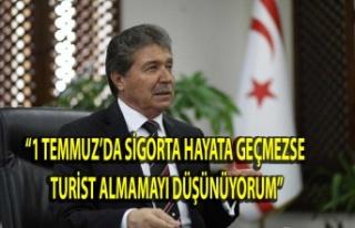 """""""Turiste zorunlu sağlık sigortası getiriliyor"""""""