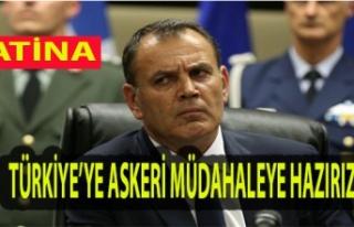 Yunanistan Savunma Bakanı'ndan Tehditkar Açıklama