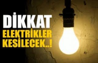 Girne'nin bazı bölgelerine bugün elektrik...