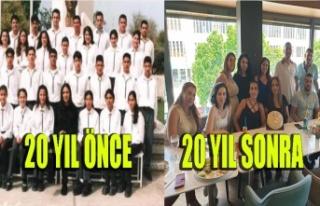 Haydar Paşa Ticaret Lisesi mezunları 20 yıl sonra...