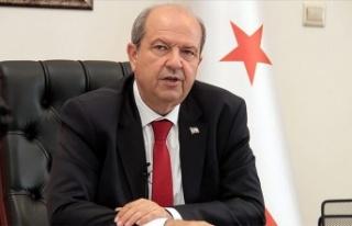 """Tatar: """"Kıbrıs Türkü direnmeseydi ne olacağı..."""