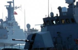 Türk savaş gemileri Doğu Akdeniz'de!