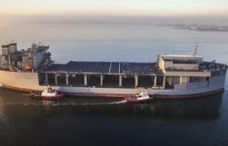 ABD'ye ait savaş gemisi Girit Adası'na...
