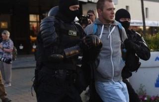 Belarus'ta seçim sonuçlarını protesto gösterileri...