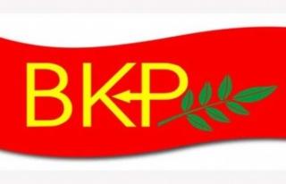 """BKP: """"Doğu Akdeniz'de artan gerginlikten endişe..."""