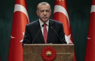 Cumhurbaşkanı Erdoğan: Kimsenin denizinde gözümüz...