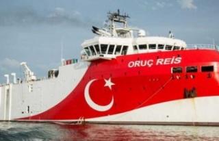 Doğu Akdeniz'de geri adım yok: Oruç Reis dönmeyecek