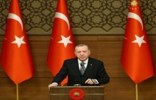 """Erdoğan: """"Bugün Doğu Akdeniz ile gündeme gelmemiz,..."""