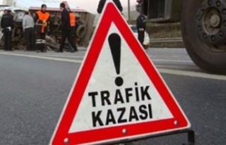 Gazimağusa-Lefkosa anayolu Yonca Kavşağı yakınlarında...