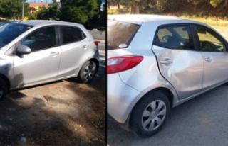 Hamile kadına araba çarptı, ikizlerinden birini...