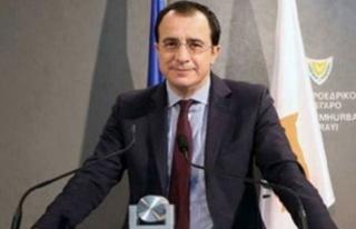 """Hristodulidis: """"Doğu Akdeniz'deki güvenlik ciddi..."""
