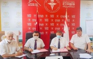 Kuzey Kıbrıs Türk Kızılayı İle Sağlık Bakanlığı...