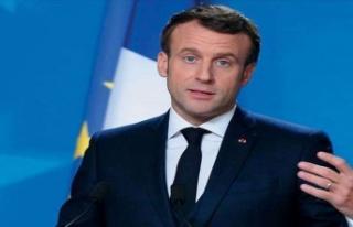 """Macron: """"Doğu Akdeniz'de askeri varlığımızı..."""