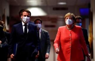 Merkel ve Macron Doğu Akdeniz'de bir
