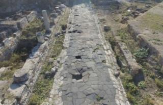 Mersin'de temel kazısı sırasında bulunan...