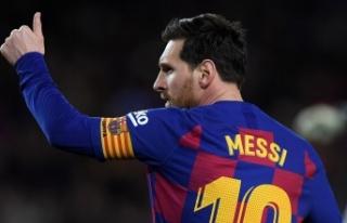 Messi'den La Liga'ya Veda