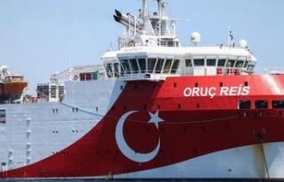 Oruç Reis sismik araştırma gemisi, Doğu Akdeniz'deki...