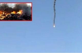 Suriye'de 2 Rus keşif uçağı düşürüldü,...