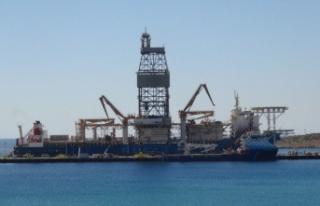 Türkiye'nin yeni sondaj gemisi 'Kanuni'...