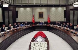 Türkiye'de kabine toplanıyor: Doğu Akdeniz'deki...