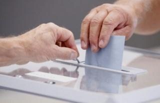 11 Ekim'de oy verme yerlerinde Covid-19 önlemleri...