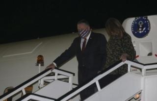 ABD Dışişleri Bakanı Pompeo Selanik'te, gündemde...