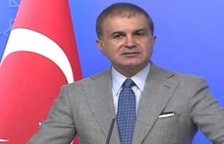 AK Parti Sözcüsü Ömer Çelik'ten Macron'a...