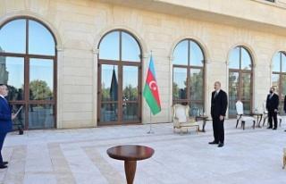 """Aliyev: """"Ermenistan'ın, Yunanistan ve Güney..."""