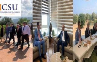 Başbakan Tatar'dan Kıbrıs İlim Üniversitesi'ne...