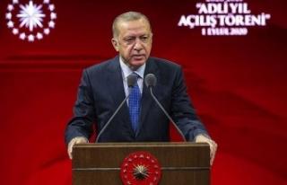 """Erdoğan: """"Doğu Akdeniz'deki, Ege'deki..."""