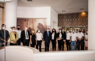 Gazimağusalı avukatlardan Maraş'ın açılmasına...