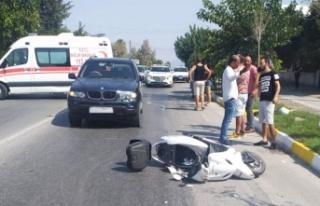 Girne'de kaza; 29 yaşındaki motosiklet sürücüsü...
