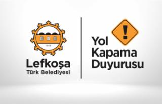 HAFTA SONU DR. FAZIL KÜÇÜK CADDESİ'NDE TRAFİK...
