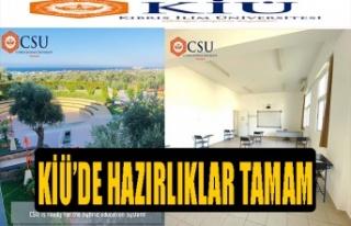 Kıbrıs İlim Üniversitesi, Covid-19 için koruyucu...