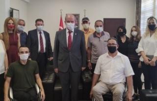 Kıbrıs Türk Ortopedik Özürlüler Derneği Başbakan...