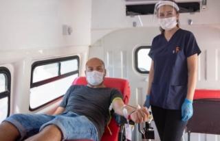 """Kuzey Kıbrıs Türk Kızılayı: """"Kan bağışının..."""