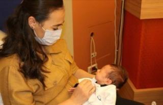 Organ nakliyle hayata tutundu, tüp bebekle anne oldu