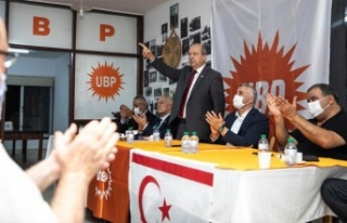 """Tatar: """"Bu seçim KKTC ve UBP'nin geleceği için..."""