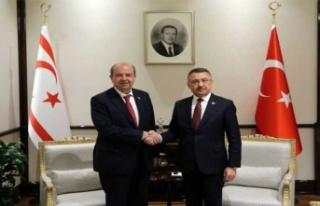 """Tatar ile görüşen Oktay: """"Bugün 117 milyon TL'yi..."""