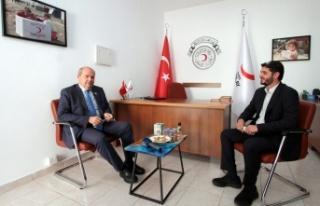 Tatar Kızılay'ı Ziyaret Etti