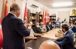 """Tatar: """"KKTC'nin gelişmesi için çalışıyoruz"""""""