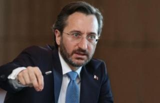 TC İletişim Başkanı Altun: Türkiye her zaman...