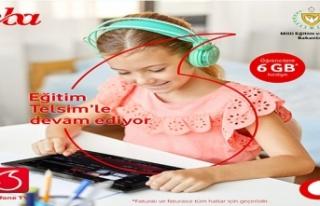 Telsim'den Öğrencilere 6 Gb İnternet Desteği...