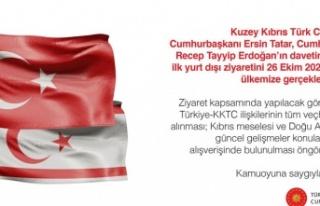 Cumhurbaşkanı Tatar, ilk yurt dışı ziyaretini...