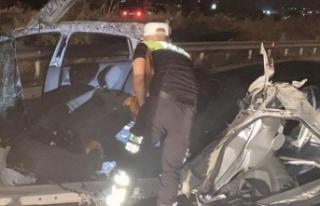 Dün akşamki kazada ağır yaralanan Electious Vhere...