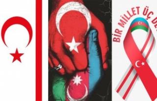 Girne'de yürekler Azerbaycan için atacak