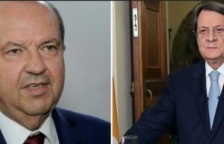 Güney Kıbrıs Rum Yönetimi Lideri Anastasiadis'ten...