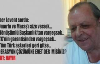Şener Levent: Yanılmışım