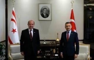 TC Cumhurbaşkanı Yardımcısı Oktay, Tatar'ın...